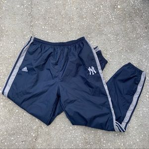 Adidas x NY Yankees Men's Vintage Track Pants, 2XL
